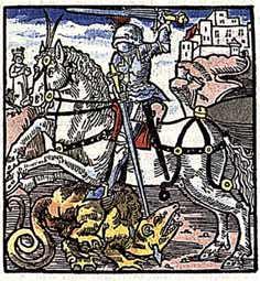 Sankt Georg eller Sankt Göran som han heter på svenska