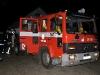 Brandmännen packar ihop och åker tillbaka till stationen
