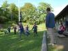 Full fart på scouterna under lekarna