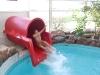 Cornelia i vattenrutchbanan