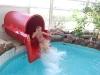 Elin i vattenrutchbanan