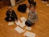 Edvin och Elina löser chiffer
