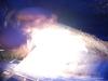 En stor gnista från eldstålet