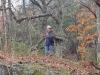 Elaka piraten Tobbe smyger omkring i skogen