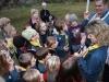 Scouterna försöker klura ut hur ledarna kom loss från handbojorna
