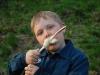 Anton äter pinnbröd