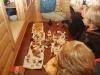 Alla svampar upplagda på bordet