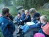 Inger och Anders går igenom scoutlagen