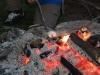 Det gäller att ha tålamod och vara försiktig när man grillar marshmallows