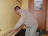 Mattias bygger skohylla