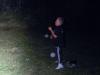 Jonglera med två bollar är lätt