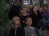 Scouterna lyssnar uppmärksamt