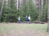 Vi utforskar lägerplatsen