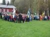 Ca 200 scouter samlade till invigning