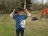 Titta vilken fin hatt jag hittade i skogen
