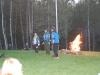 Lägerbålet sätter igång